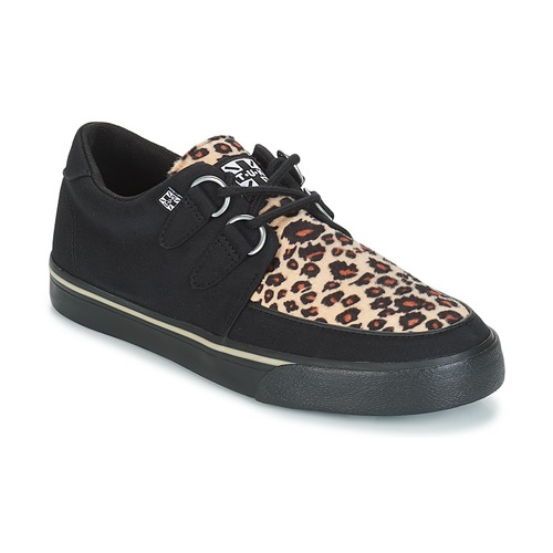 Chaussures Baskets basses TUK CREEPER SNEAKERS Noir / Marron