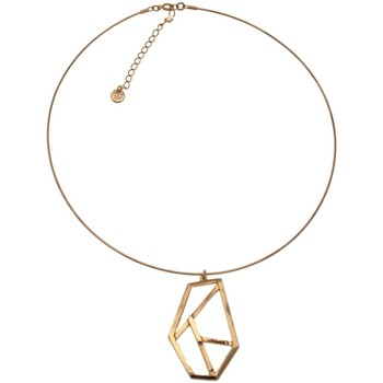 Montres & Bijoux Femme Colliers / Sautoirs Pya Collier sur cable collection GEO Or