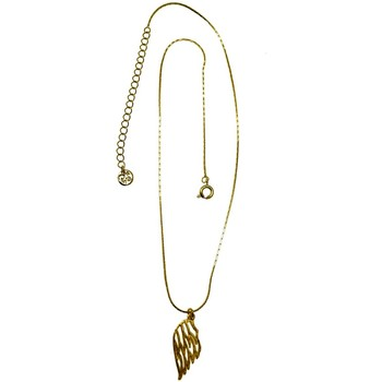 Montres & Bijoux Femme Colliers / Sautoirs Pya Collier motif aile d'ange collection ANGEL Or