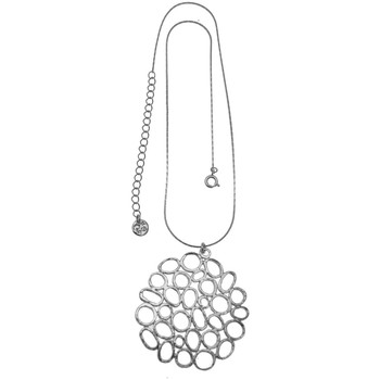Montres & Bijoux Femme Colliers / Sautoirs Pya Collier motif taille Xl pendentif collection CASSIOPEE Argent