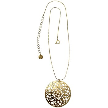 Montres & Bijoux Femme Colliers / Sautoirs Pya Collier grand motif pendentif collection ESMERALDA Or