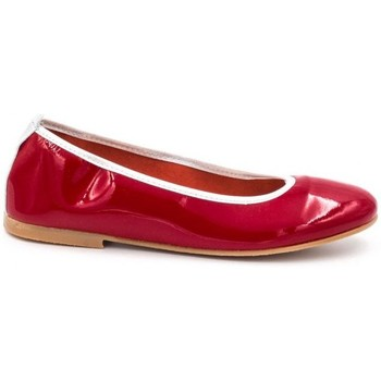 Chaussures Fille Ballerines / babies Boni Classic Shoes Boni Adelaide - ballerines rouge vernis Rouge