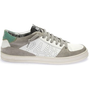 Chaussures Homme Baskets basses P448 BASKET E8QUEENS BLANC/GRIS