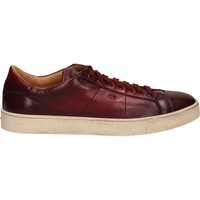 Chaussures Homme Baskets basses Santoni DERBY 7 OCC. GOOSE rouge