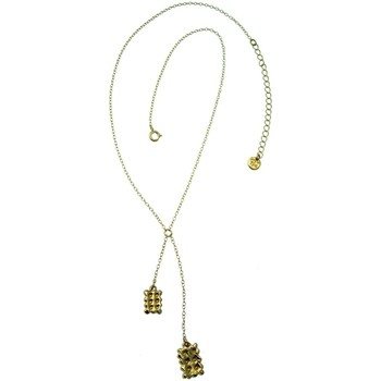 Montres & Bijoux Femme Colliers / Sautoirs Pya Collier motif pendentif pendulaire lu collection LULU Or