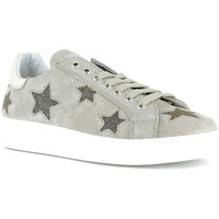 Chaussures Femme Baskets basses Reqins Baskets Femmes - SNOOP MIX STAR Silver