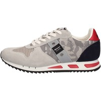 Chaussures Homme Baskets basses Blauer 8SMEMPHIS02/CAM Sneakers Homme Gris