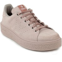 Chaussures Femme Baskets mode Victoria Femme victoria sneakers velours rose Beige