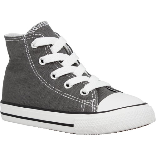 Chaussures Enfant Baskets montantes Converse Chuck Taylor All Star Hi toile Enfant Anthracite Anthracite