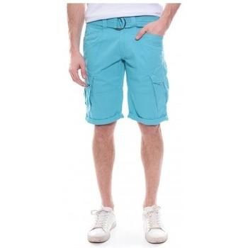 Vêtements Homme Shorts / Bermudas Ritchie Bermuda battle BATISTIN Turquoise