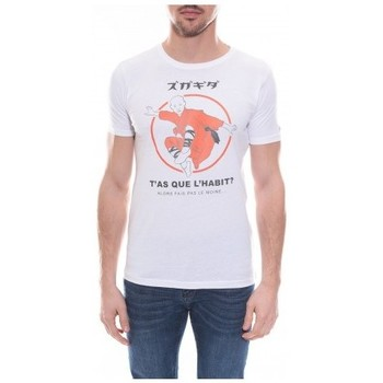 Vêtements Homme T-shirts & Polos Ritchie T-shirt col rond en coton NERAC Blanc
