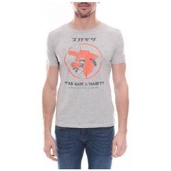 Vêtements Homme T-shirts & Polos Ritchie T-shirt col rond en coton NERAC Gris