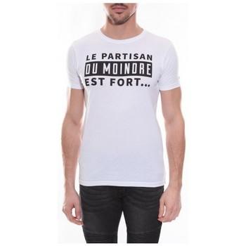 Vêtements Homme T-shirts & Polos Ritchie T-shirt col rond NOISIEL Blanc