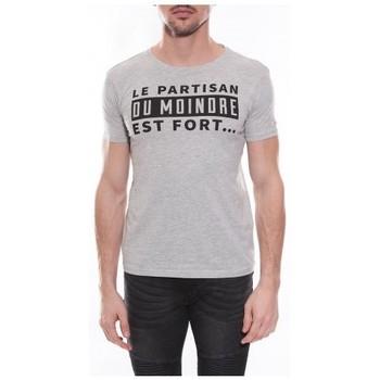 Vêtements Homme T-shirts & Polos Ritchie T-shirt col rond NOISIEL Gris