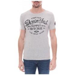 Vêtements Homme T-shirts & Polos Ritchie T-shirt col rond NUBAY Gris