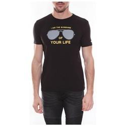 Vêtements Homme T-shirts & Polos Ritchie T-shirt col rond en coton NYONS Noir