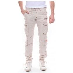 Vêtements Homme Pantalons Ritchie Pantalon battle CALEL Beige