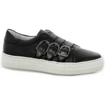Chaussures Femme Baskets mode Exit Baskets cuir Noir