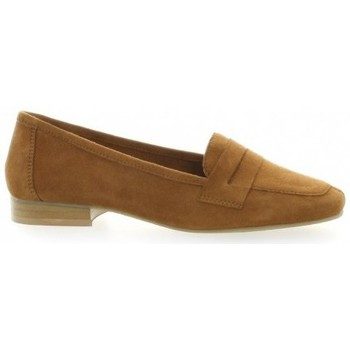 Chaussures Femme Mocassins We Do Mocassins cuir velours Camel