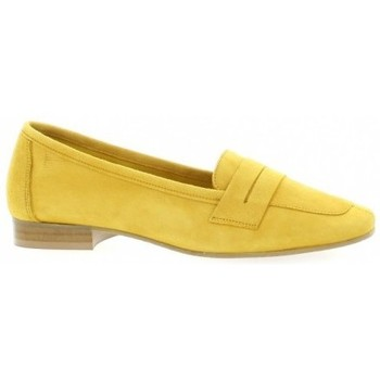 Chaussures Femme Mocassins We Do Mocassins cuir velours Jaune