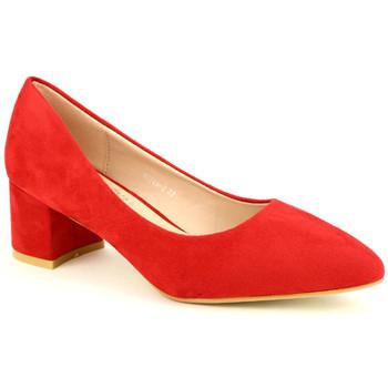 Chaussures Femme Escarpins Cendriyon Escarpins Rouge Chaussures Femme Rouge