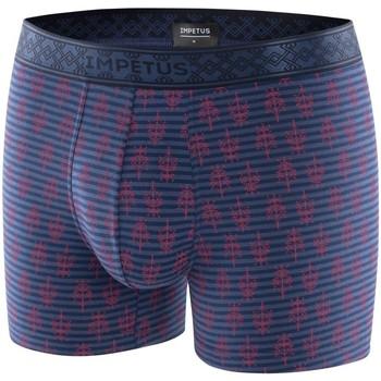 Vêtements Homme Boxers / Caleçons Impetus Boxer Homme Modal XIAN Marine bleu