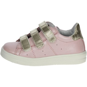 Chaussures Enfant Baskets basses Ciao Bimbi 2246.13 Petite Sneakers Fille Rose Rose