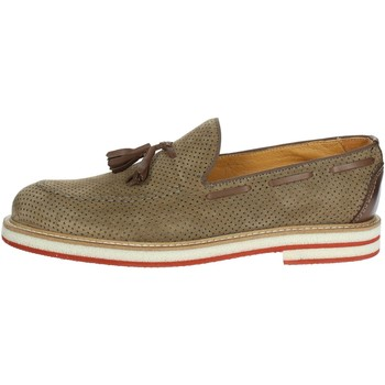 Chaussures Homme Mocassins Exton 675 Marron Taupe