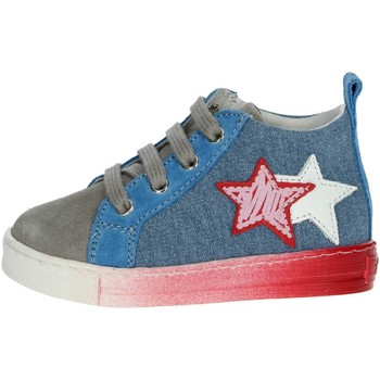 Chaussures Enfant Baskets montantes Falcotto 0012012337.01.9102 Céleste