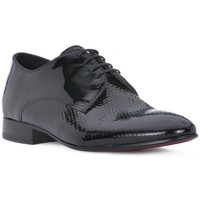 Chaussures Homme Richelieu Eveet CUBY VERNICE NERO KING Nero