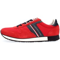 Chaussures Homme Baskets basses Tommy Hilfiger FM0FM01590 NEW ICONIC RUNNER SNEAKERS Homme RED RED