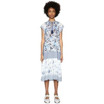 Vêtements Femme Robes Desigual Robe Nadine Celeste Bleu 18SWVWEF 19