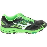 Chaussures Homme Running / trail Mizuno Wave Mujin 4 Noir Vert Noir