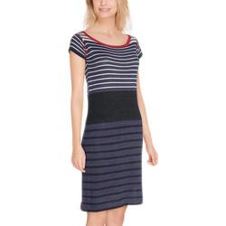 Vêtements Femme Robes longues Desigual Robe Alexandros Navy 18SWVF20 19