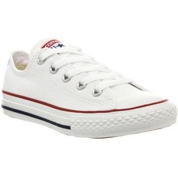 Chaussures Garçon Baskets mode Converse all star ox e blanc