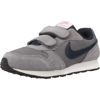 Chaussures Fille Baskets basses Nike MD RUNNER Gris