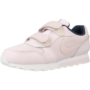 Chaussures Fille Baskets basses Nike MD RUNNER 2 Rose