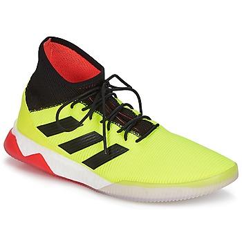 Chaussures Homme Football adidas Originals PREDATOR TANGO 18.1 TR Jaune / Noir / Rouge
