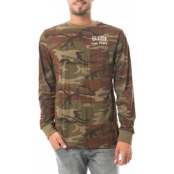 T-shirts manches longues Brixton Tee Shirt Ml Print Dos  Camouflage