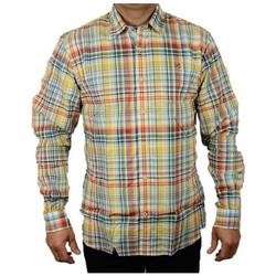Vêtements Homme Chemises manches longues Napapijri GARDEZCHECKCAMICIAChemises Multicolor