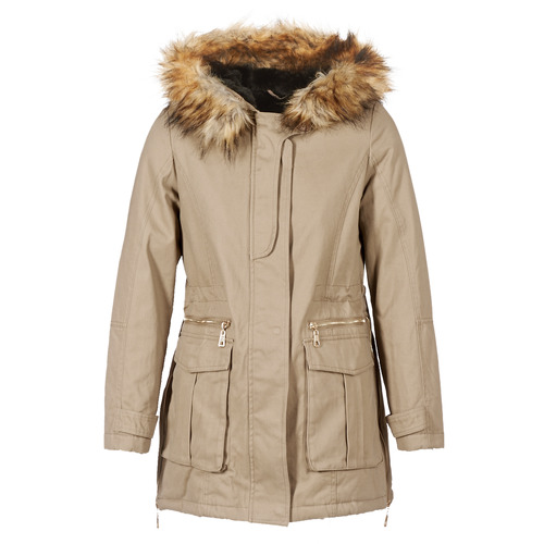 Vêtements Femme Parkas Moony Mood GARNO Beige