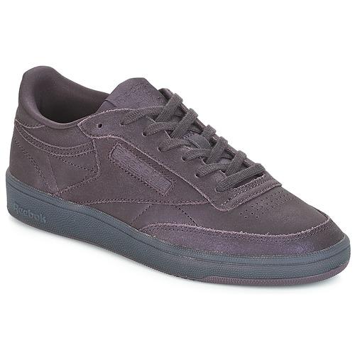 Chaussures Femme Baskets basses Reebok Classic CLUB C 85 Violet