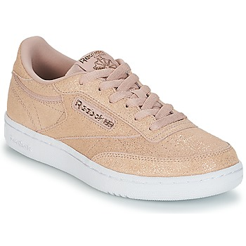 Chaussures Fille Baskets basses Reebok Classic CLUB C J Rose glitter