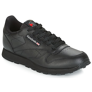 Chaussures Enfant Baskets basses Reebok Classic CLASSIC LEATHER J Noir