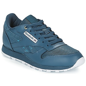 Chaussures Enfant Baskets basses Reebok Classic CLASSIC LEATHER J Marine