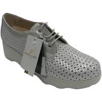Chaussures Femme Derbies Pitillos Chaussure de sport ajourée pour femme av gris