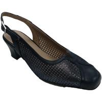 Chaussures Femme Sandales et Nu-pieds Trebede Chaussure habillée femme fermée bout ouv azul