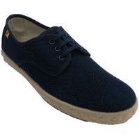 Chaussures Homme Baskets basses Made In Spain 1940 Chaussure homme lacets chanvre spartiate azul