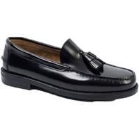 Chaussures Homme Mocassins Edward's Castellanos glands semelle en caoutchouc negro