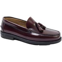 Chaussures Homme Mocassins Edward's Castellanos glands semelle en caoutchouc burdeos
